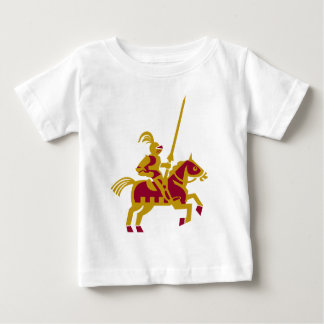 Knight On Horseback Baby T-Shirt