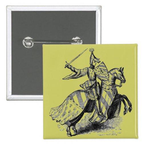 Knight on Horseback Buttons
