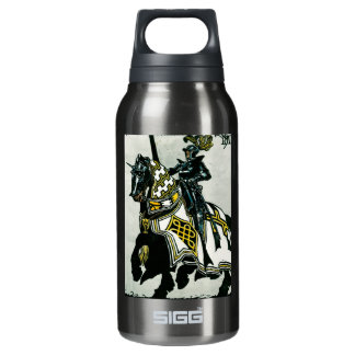 Knight On Horseback Insulated Water Bottle