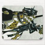 Knight On Horseback Mousepad Vertical