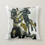 Knight On Horseback Pillow