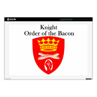 Knight Order of the Bacon Skin For Laptop