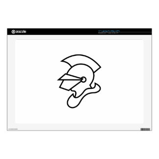 "Knight Outline 17"" Laptop Decal"