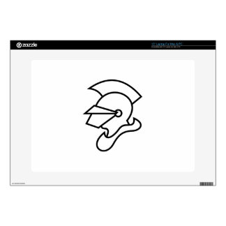 Knight Outline Laptop Decal
