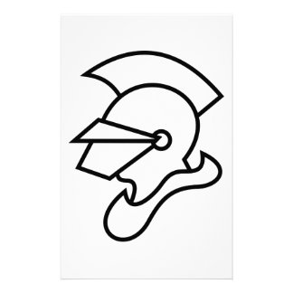 Knight Outline Stationery