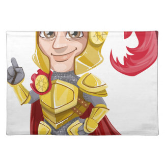 knight placemat