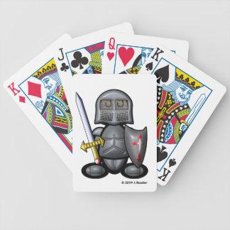Knight (plain) poker cards