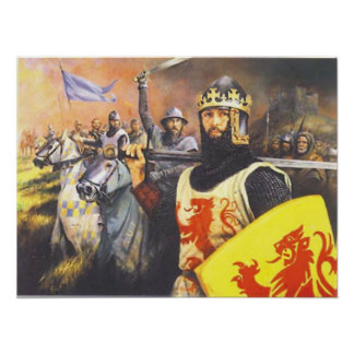 Knight Robert Bruce Poster