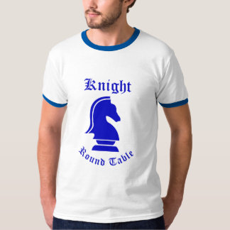 Knight Round Table (Blue) T-Shirt