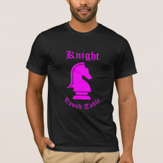 Knight Round Table (Pink) T-Shirt