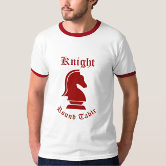 Knight Round Table (Red) T-Shirt