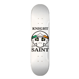 Knight Saint Skull Skateboard Deck