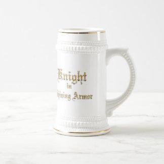 Knight Shining Armor Beer Stein
