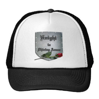 Knight Shining Armor Red Rose Trucker Hat