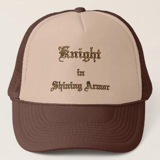 Knight Shining Armor Text Trucker Hat