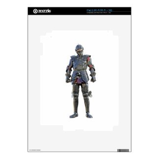 Knight Standing and Looking Forward iPad 2 Decal