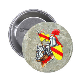 Knight stone 2 inch round button