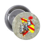 Knight stone pinback buttons
