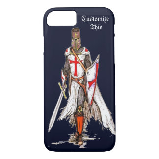 knight templar crusader iPhone 7 case cover