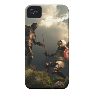 Knight Templar Fight iPhone 4 Case