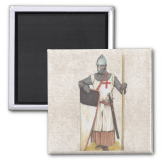 Knight Templar Historic Magnet
