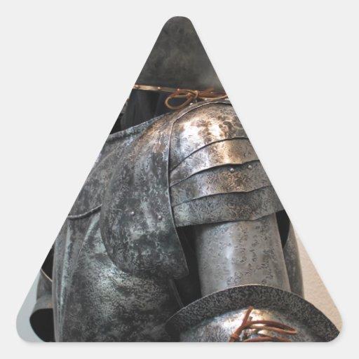 Knight Templar Two Triangle Sticker