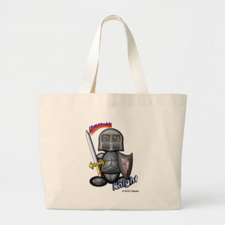 Knight (with logos) canvas bags
