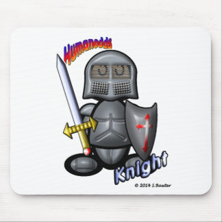 Knight (with logos) mouse pads