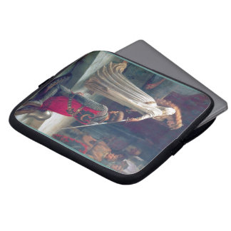Knighted Woman sword castle Knight Laptop Computer Sleeve