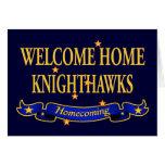 Knighthawks casero agradable felicitaciones