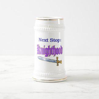 Knighthood Stein Mugs