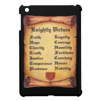 Knightly Virtues iPad Mini Cases