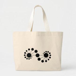 Knighton Hill Crop Circle Canvas Bag