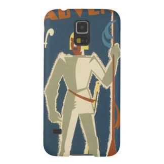 Knights, Adventures, and Books Poster Galaxy S5 Case