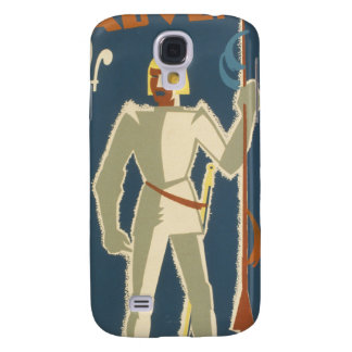Knights, Adventures, and Books Poster Galaxy S4 Case
