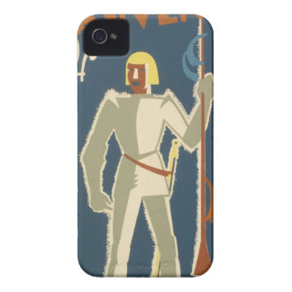 Knights, Adventures, and Books Poster iPhone 4 Case-Mate Cases