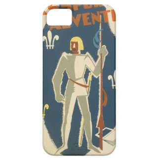 Knights, Adventures, and Books Poster iPhone 5 Cases