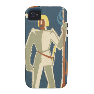 Knights, Adventures, and Books Poster Case-Mate iPhone 4 Cover