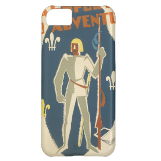 Knights, Adventures, and Books Poster Case For iPhone 5C