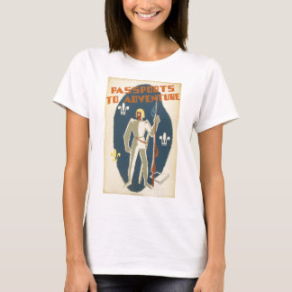 Knights, Adventures, and Books Poster T-Shirt