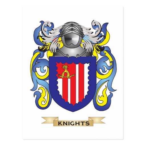 Knights Coat of Arms (Family Crest ...