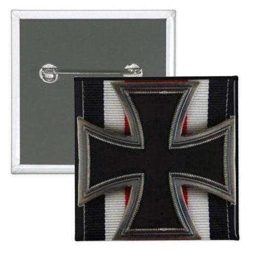 Knight's Cross Pinback Button