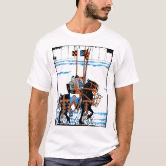 Knights - Deco Illustration (Customizable) T-Shirt