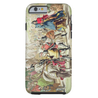 Knights Duelling on Foot in a Tournament, plate 1 Tough iPhone 6 Case
