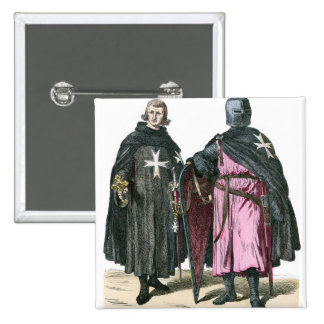 Knights from the Order of St John Button