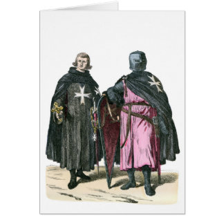 Knights from the Order of St John Greeting Card