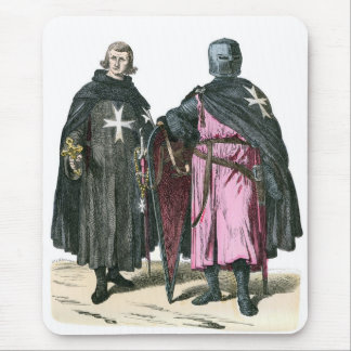 Knights from the Order of St John Mouse Pad