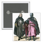 Knights from the Order of St John Pinback Button