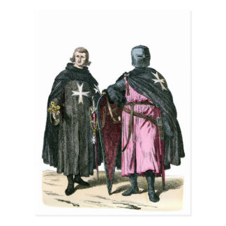 Knights from the Order of St John Postcard