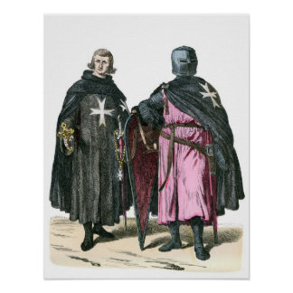 Knights from the Order of St John Poster